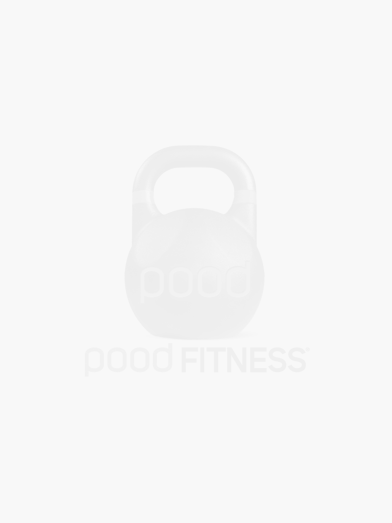 Anilha Pood Bumper Plate Black - Pood Fitness