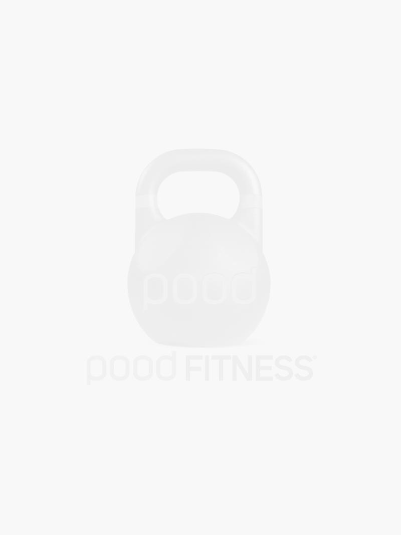 Joelheira de Fita Elástica (Knee Straps) Pood Fitness - PAR - Preto / Vermelho