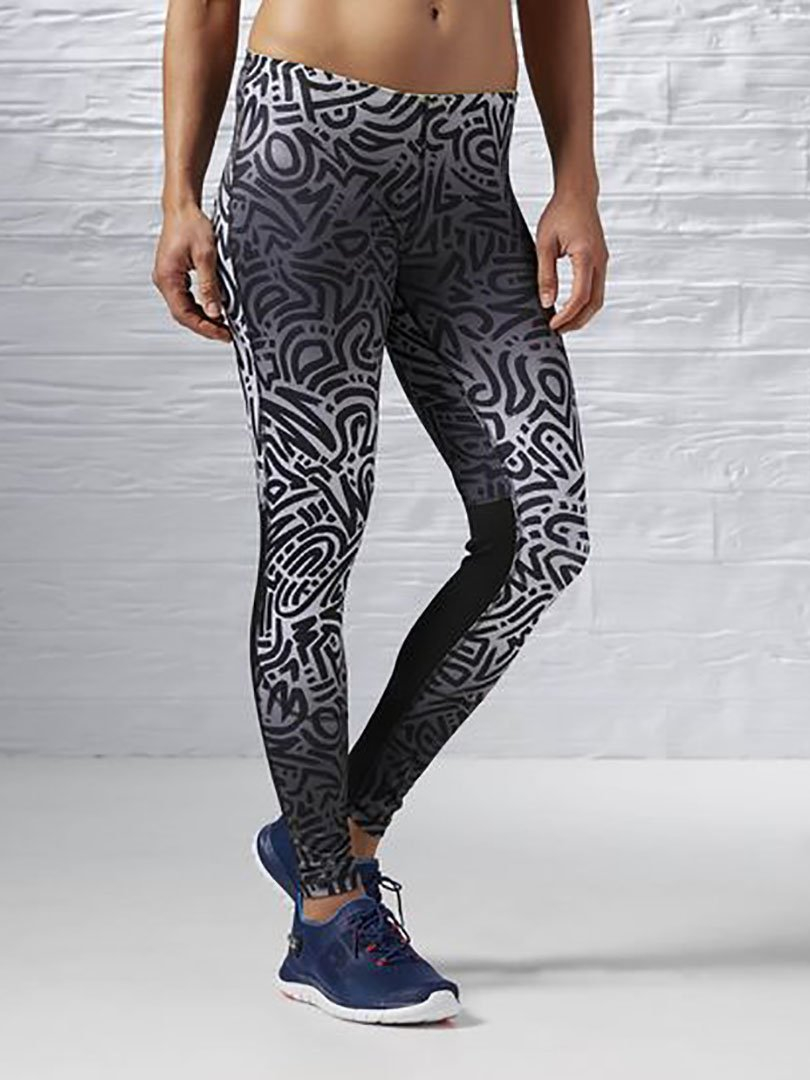 Calça Compressão Running Essentials Ombre Tight