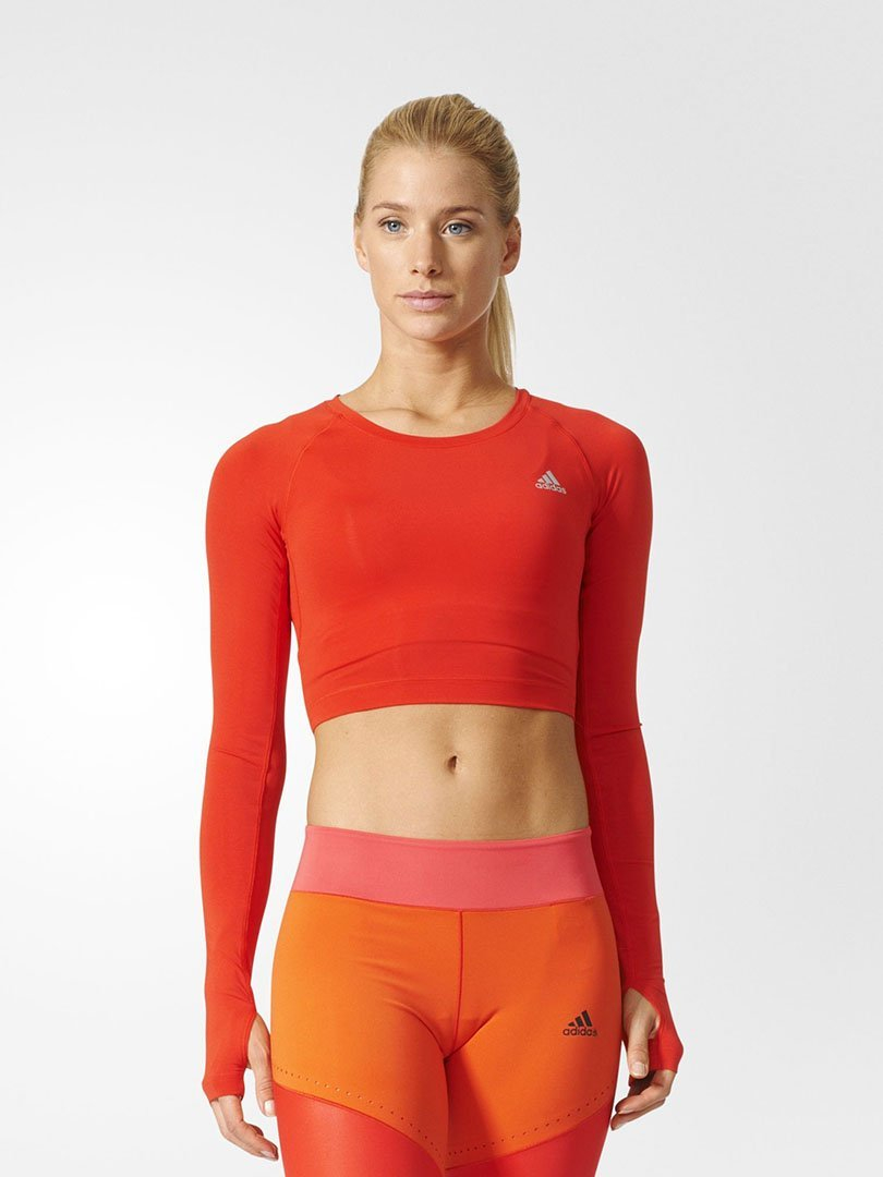 Top Crop Techfit - Adidas