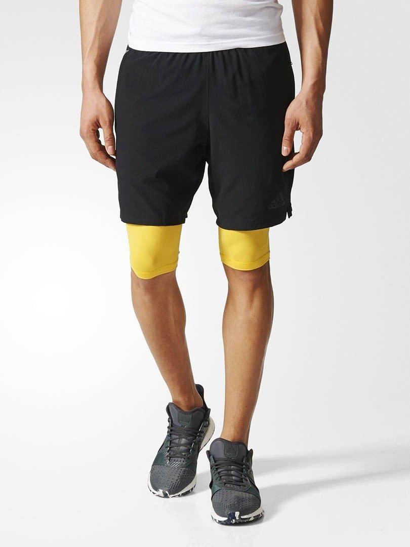 Bermuda Speed Br 2Em1 Adidas