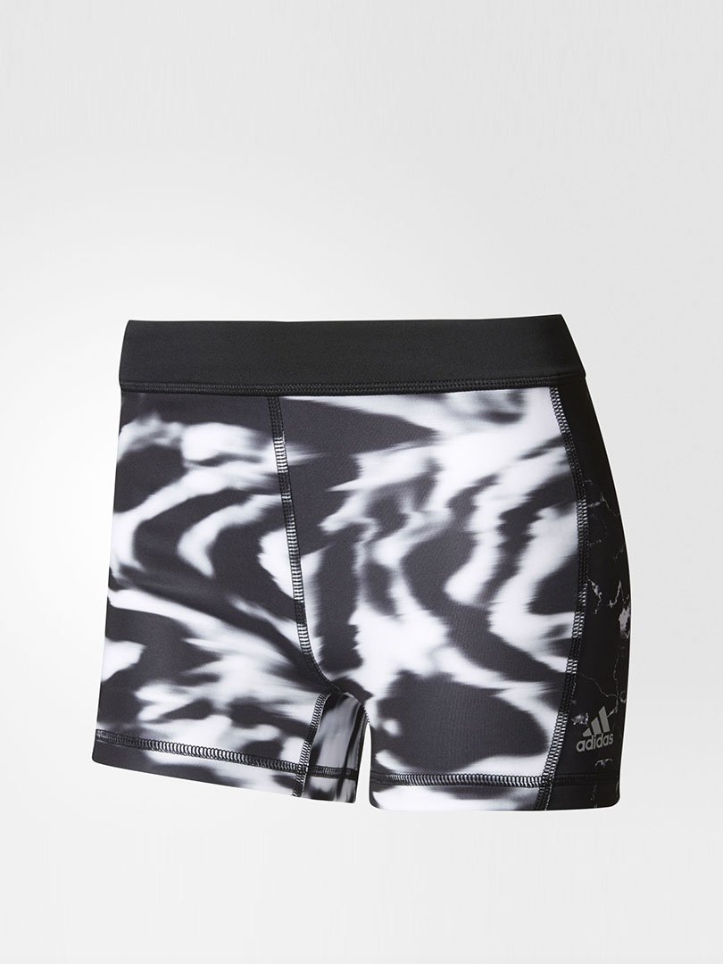 Shorts Compressor Estampado Techfit - Adidas