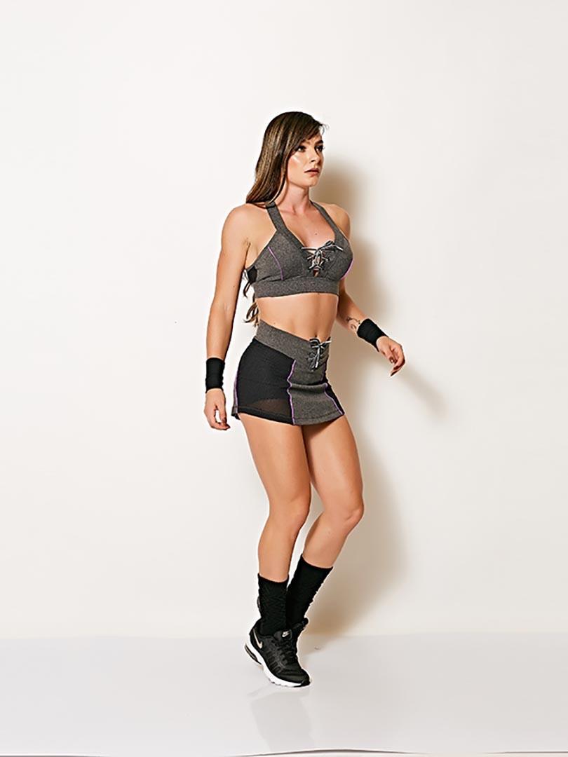 Shorts Saia Telinha - Colcci Fitness