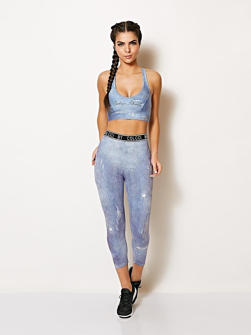 Top Jeans Colcci Fitness