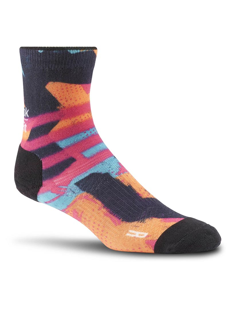 Meia CrossFit Spray Stripe Sock - Reebok