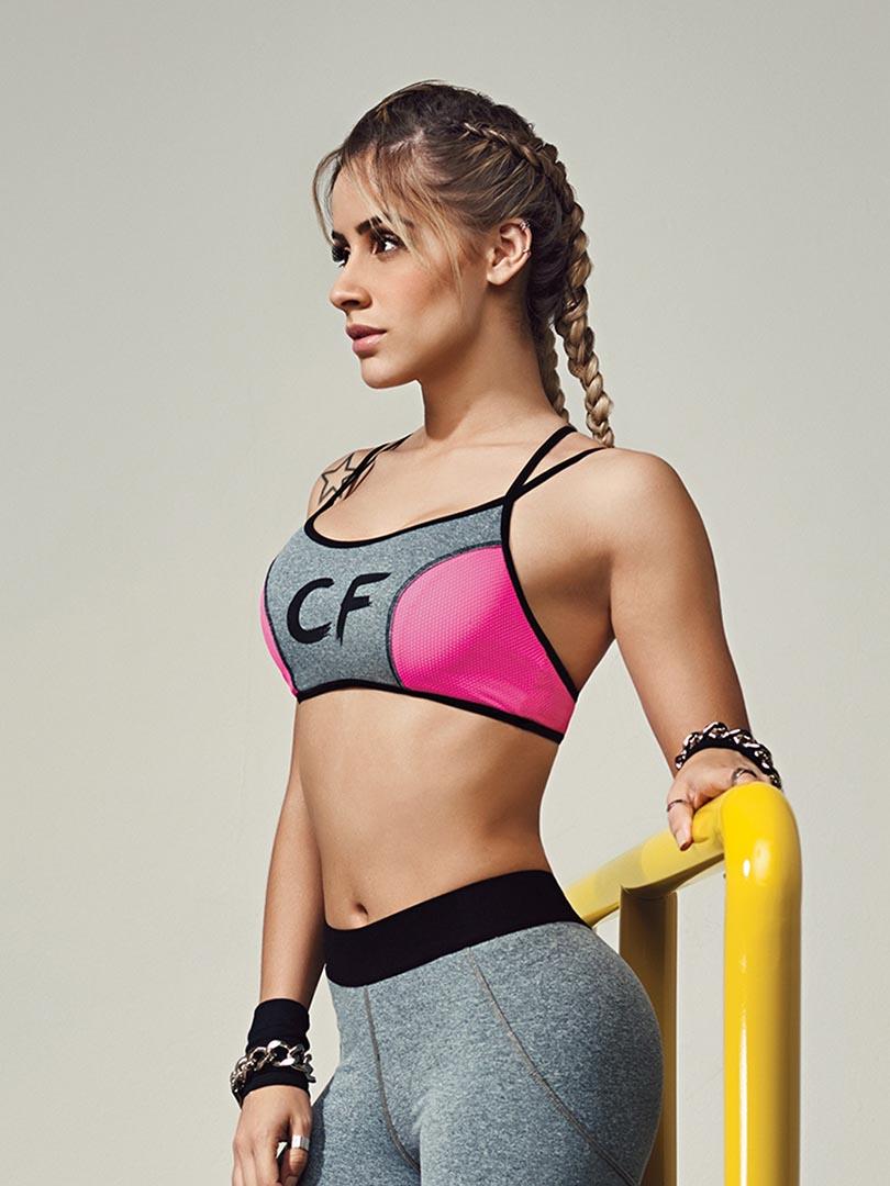 Top CF Tiras Colcci Fitness