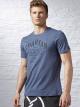 Camiseta Spartan Race Bi-Blend Manga Curta - Reebok