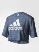 Camisa Aeroknit Boxy Crop - Adidas