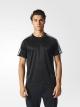Camiseta Masculino Adidas D2M 3-Stripes