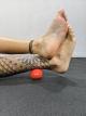 Pood Lacrosse Ball Liberação Miofascial Vermelha