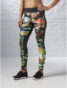 Legging Reebok One Series Crazy Camo Tight