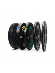 Anilha Pood Bumper Plate Black - Pood Fitness