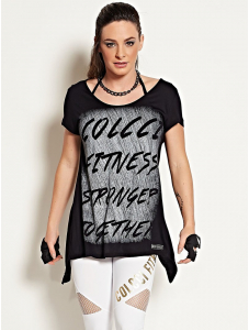Blusa Stronger - Colcci Fitness
