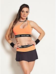 Top Colcci Laranja - Colcci Fitness