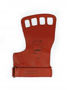 Pood Palm Grip 4 Furos Vermelho - Par