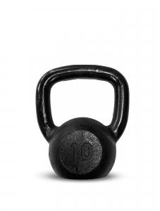 Kettlebell Ferro Preto 10kg - Next Fitness