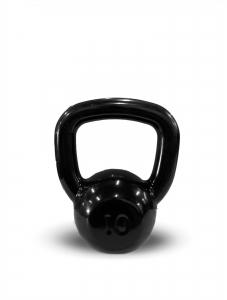Kettlebell Revestido Preto 10kg - Next Fitness