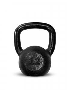 Kettlebell Ferro Preto 12kg - Next Fitness