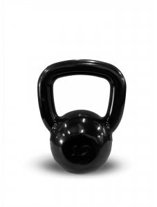 Kettlebell Revestido Preto 12kg - Next Fitness