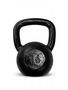 Kettlebell Ferro Preto 16kg - Next Fitness