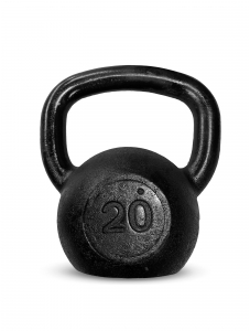Kettlebell Ferro Preto 20kg - Next Fitness