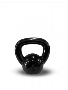 Kettlebell Revestido Preto 6kg - Next Fitness