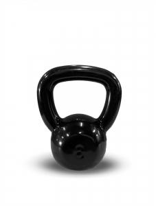 Kettlebell Revestido Preto 8kg - Next Fitness