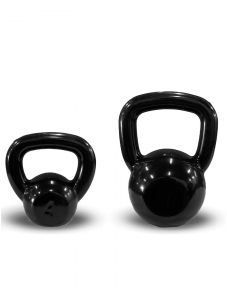 Kettlebell Revestido Preto Next Fitness