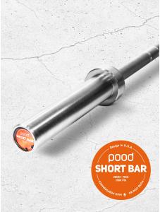 Pood Short Bar 15kg - Barra Olímpica