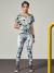 Blusa Estampada Marmore - Colcci Fitness