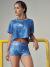 Shorts Estampa Jeans - Colcci Fitness