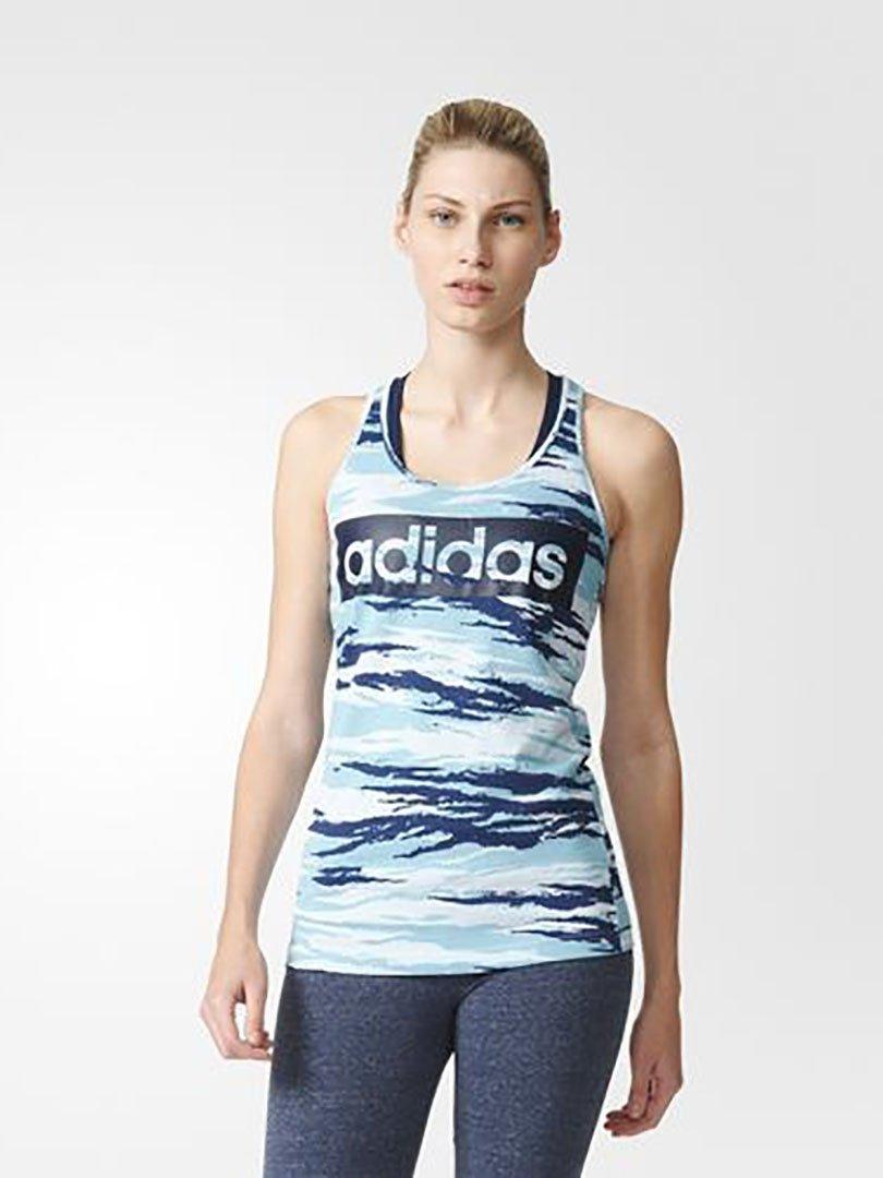 Regata Estampa Corrida Essentials Linear - Adidas