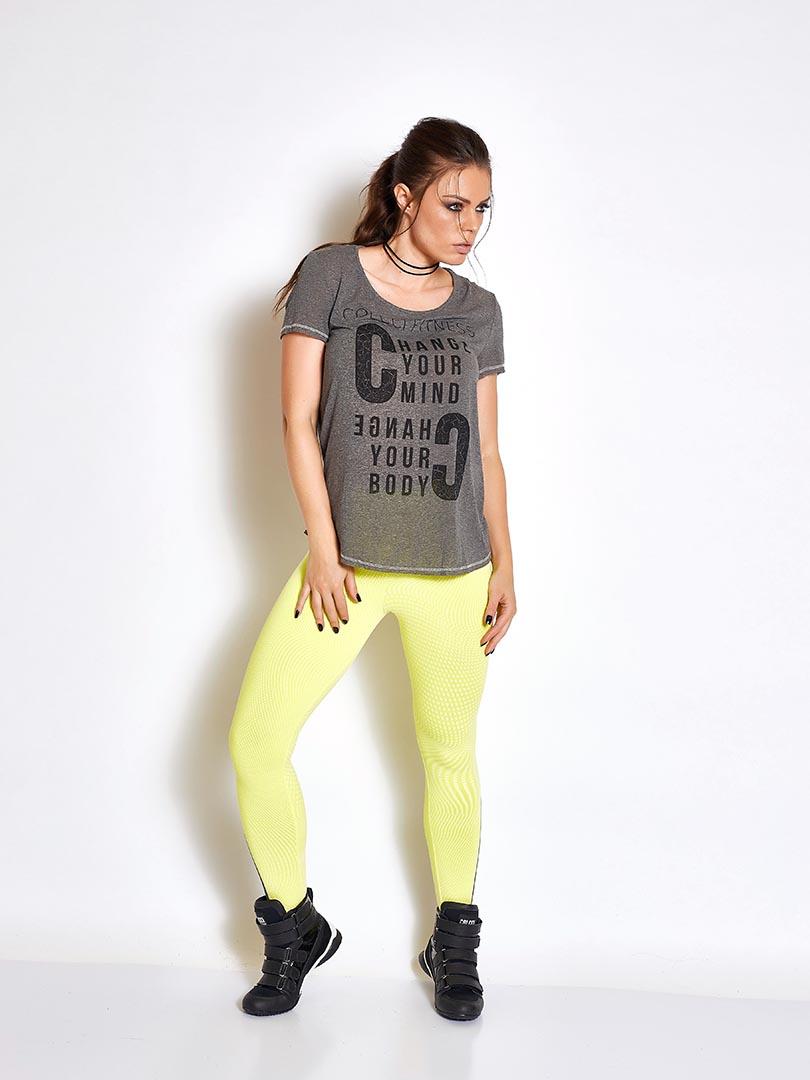 Blusa Estampada - Colcci Fitness