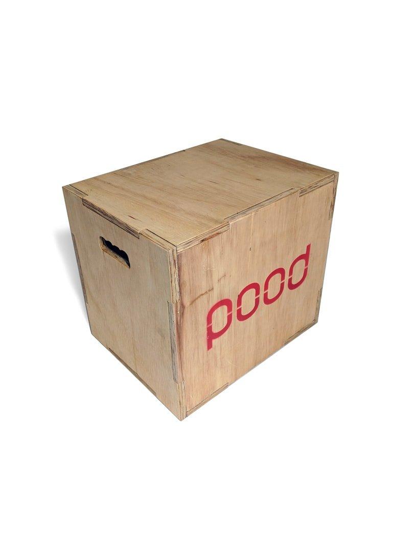 Caixa Para Salto Plyo Box Scale - Pood Fitness
