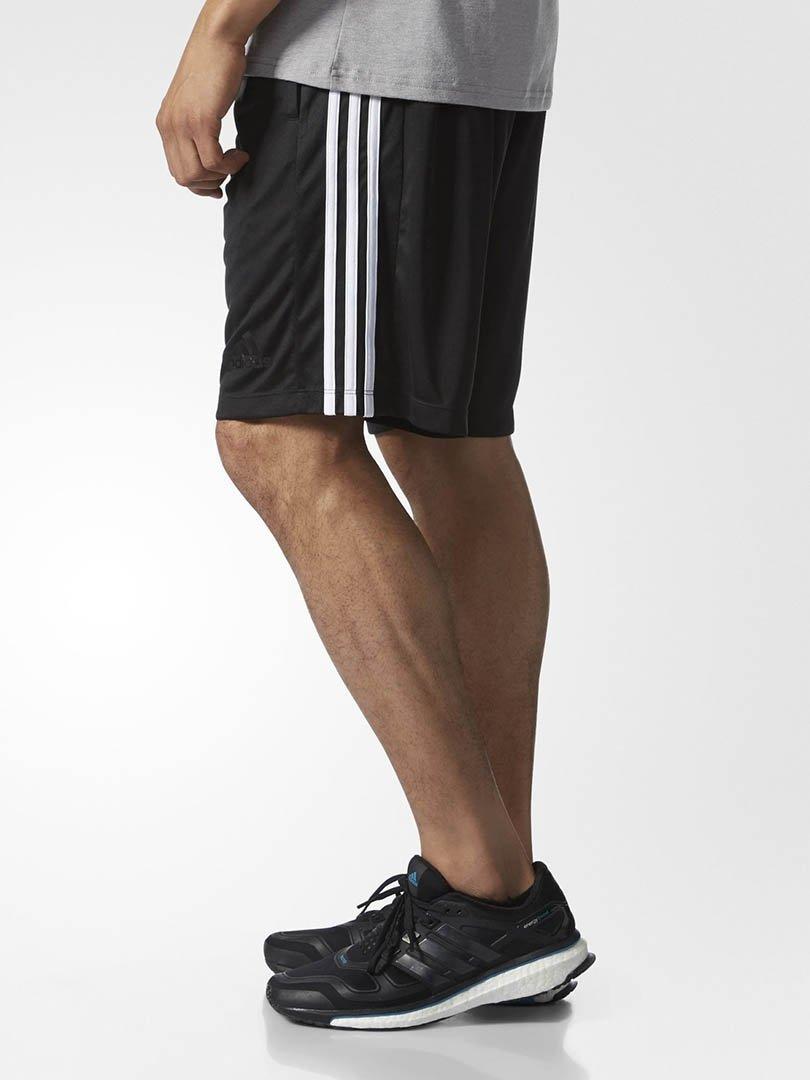 Shorts D2M 3-Stripes Masculino Adidas