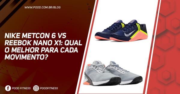 Nike Metcon 6 vs Reebok Nano X1: Qual O Melhor Para Cada Movimento?
