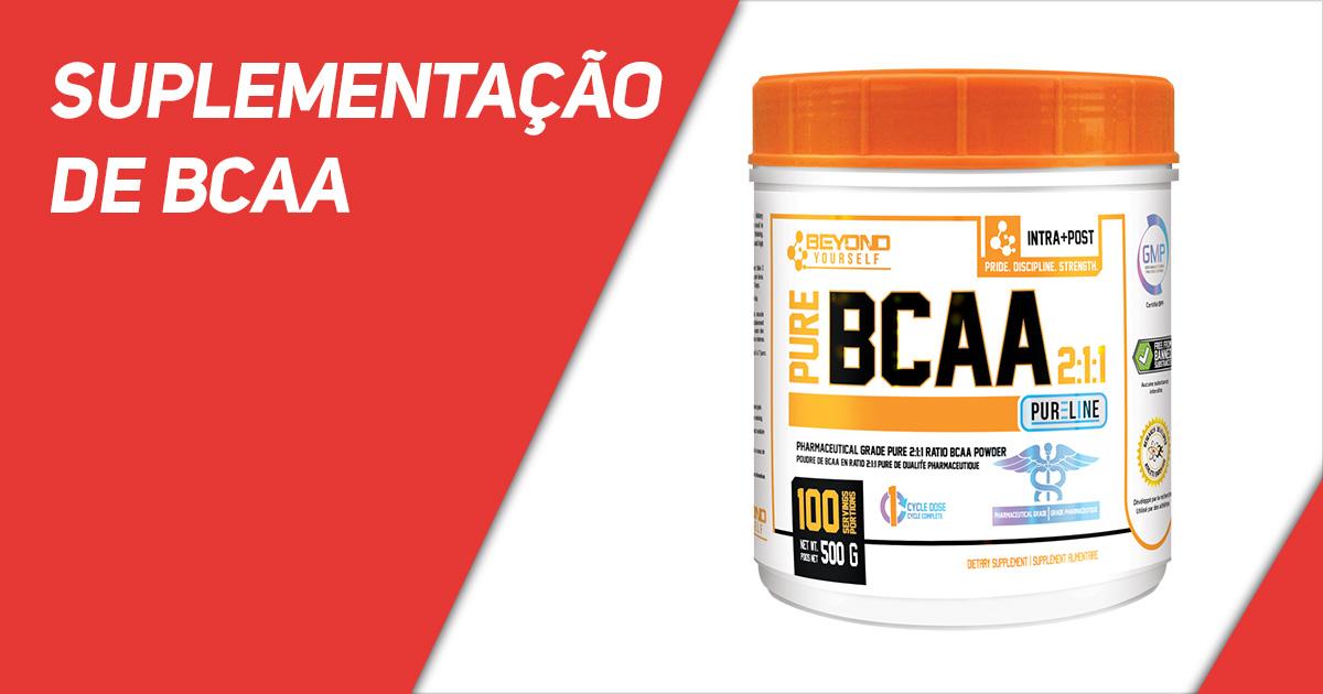 Suplementação de BCAA