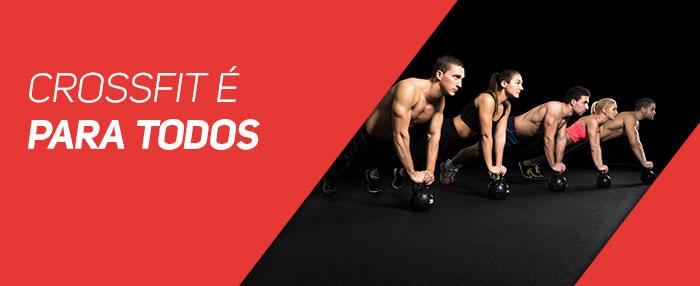 CrossFit é para todos