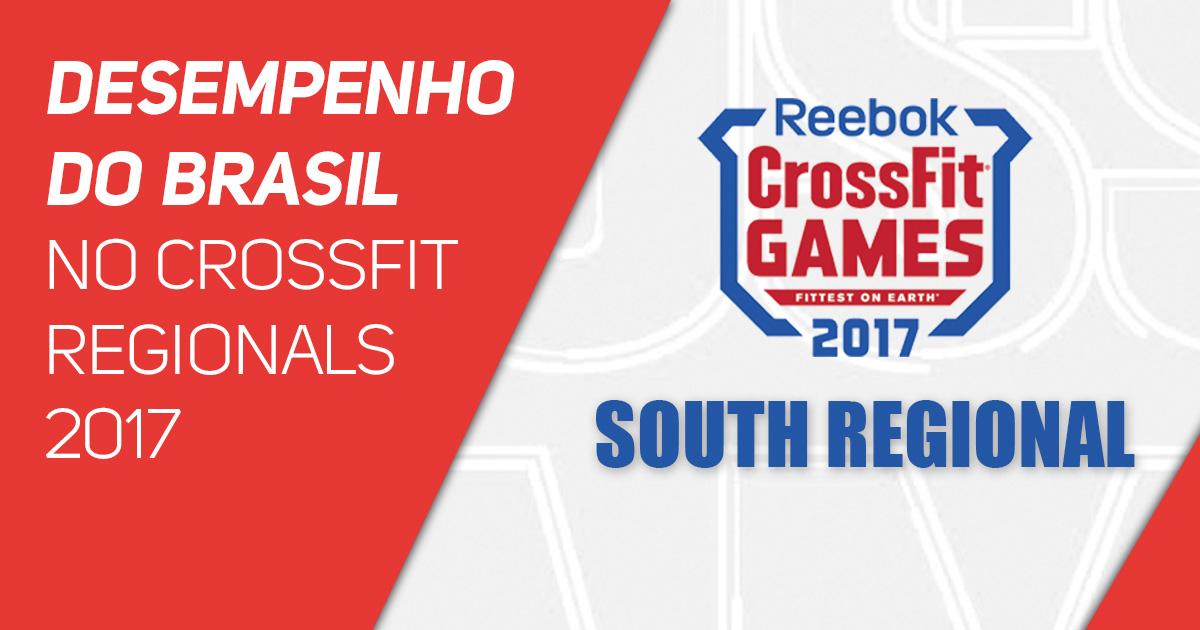 Desempenho do Brasil no CrossFit Regionals 2017