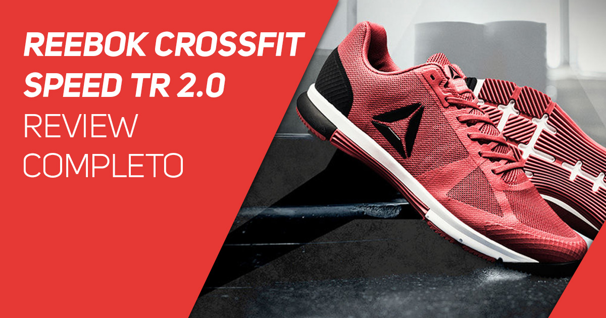 Reebok CrossFit Speed TR 2.0 - Review Completo