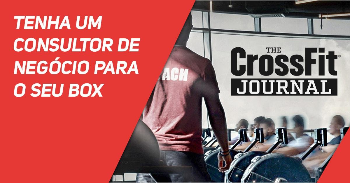 Destaque CrossFit Journal: tenha um consultor de negócio para o seu Box