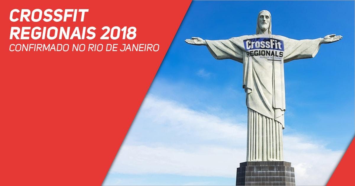 CrossFit Regionais 2018 confirmado no Rio de Janeiro