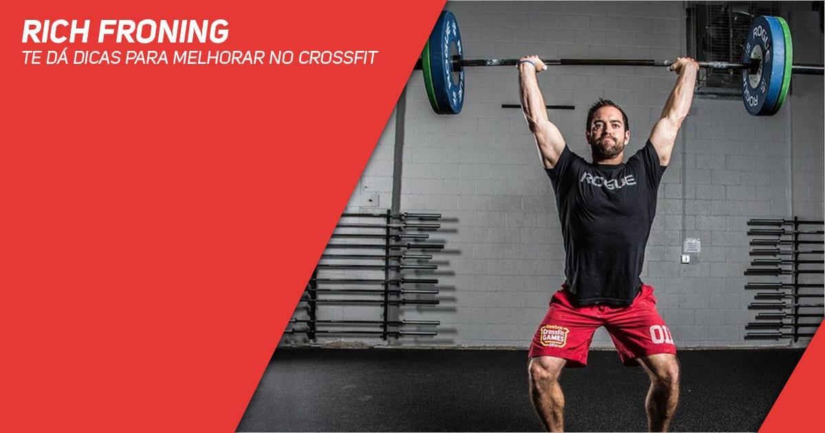 Rich Froning te dá dicas para melhorar no CrossFit