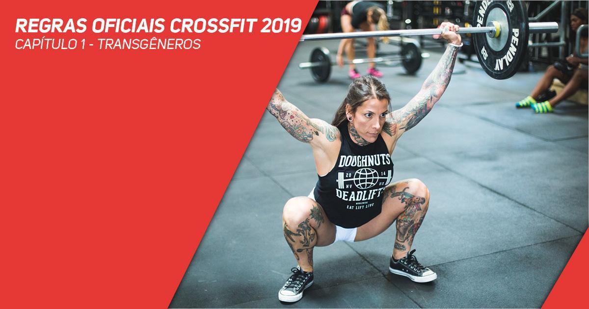 Regras oficiais CrossFit 2019 - Capítulo 1 - Transgêneros