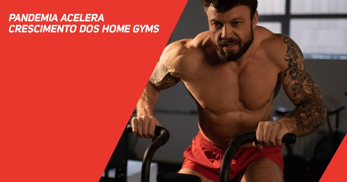 Pandemia acelera crescimento dos home gyms
